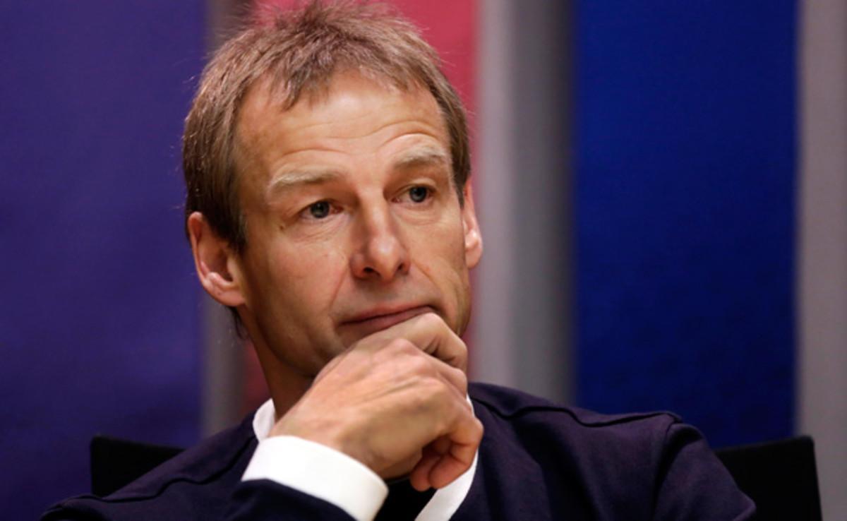 U.S. coach Jurgen Klinsmann indicated that Michael Bradley probably will not play vs. Belgium.