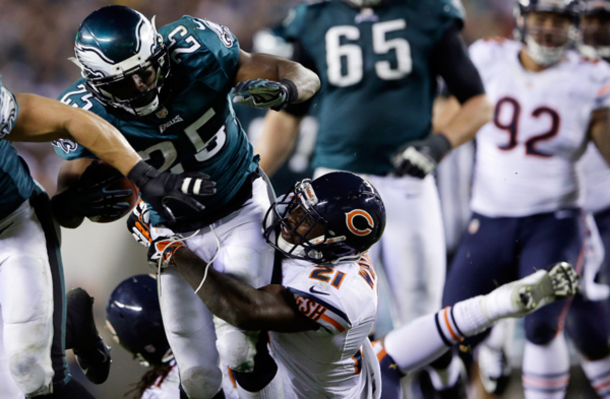 The Chicago Bears are one of a few division leaders in need of more power. (Michael Perez/AP)