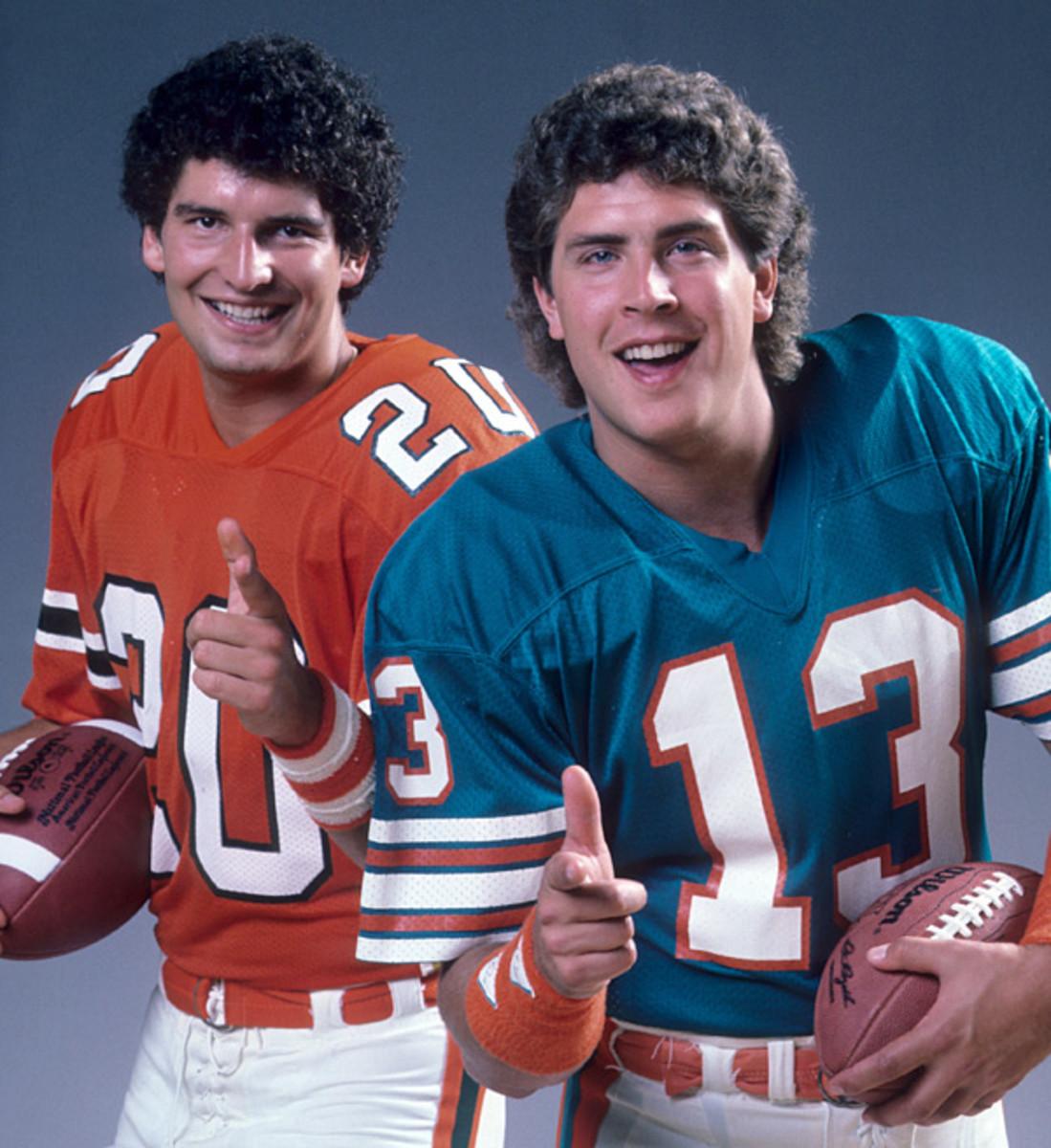 Bernie Kosar and Dan Marino :: Lane Stewart/SI