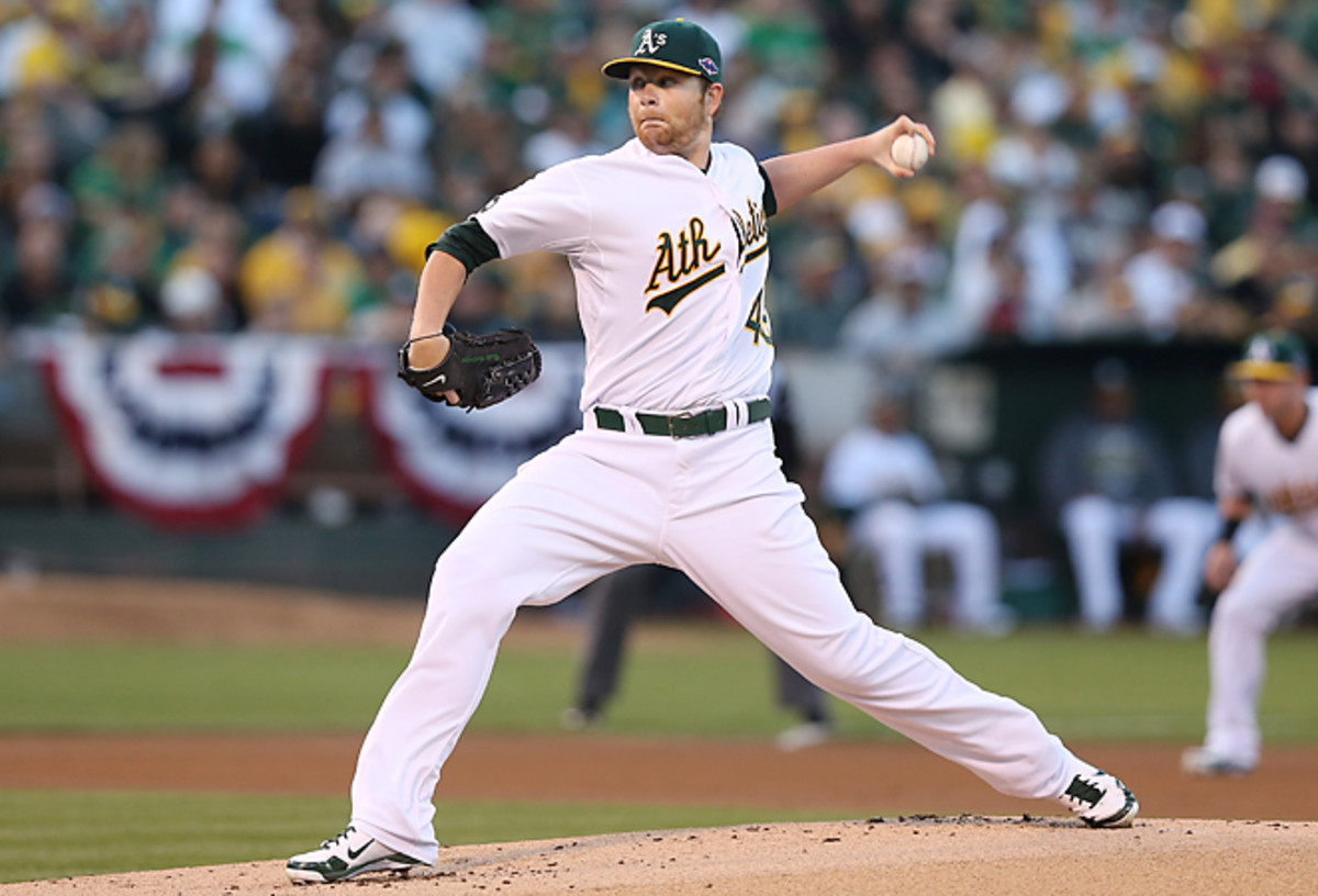 Brett Anderson has been a reliably effective starter when healthy, posting a 3.57 ERA in 68 career starts.