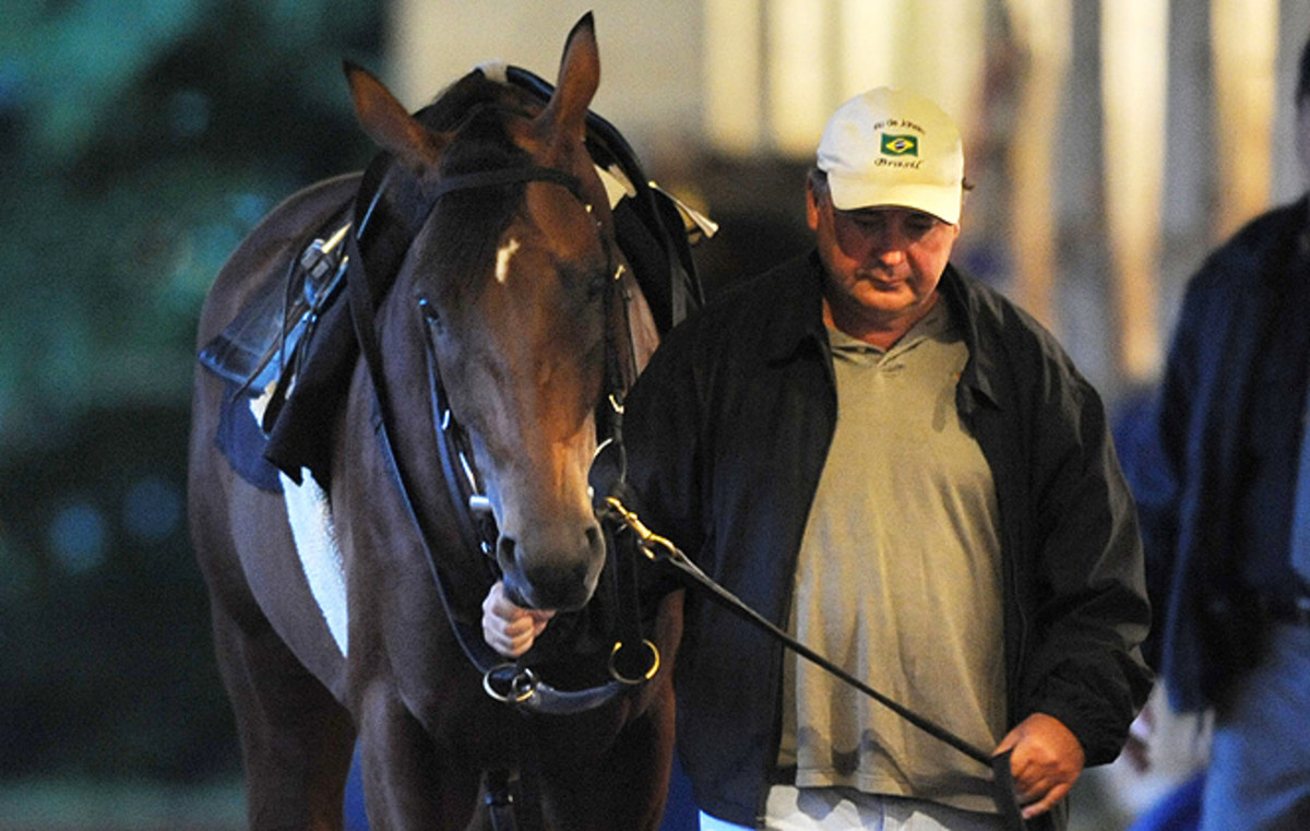 Trainer Rick Dutrow's Big Brown won the Kentucky Derby and the Preakness Stakes in 2008.