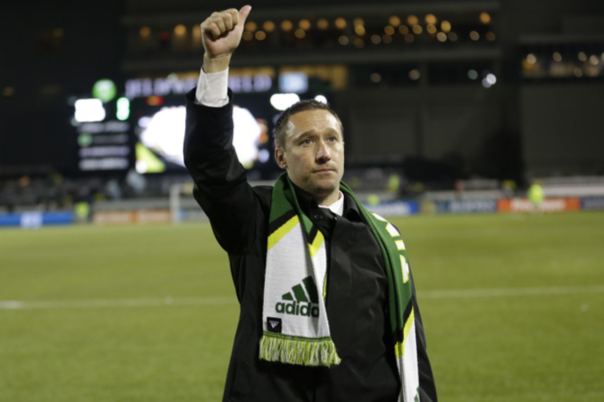 Caleb Porter has the Portland Timbers within a game of the MLS Cup final in his first year as manager.