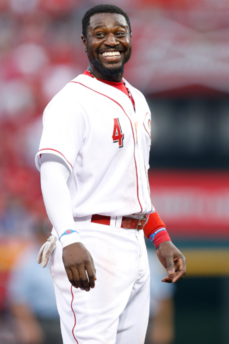 Brandon Phillips :: Joe Robbins/Getty Images