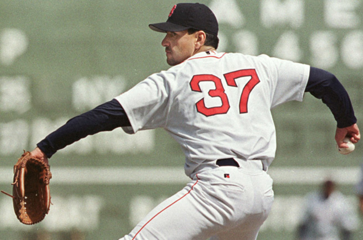 Frank Castillo pitched for six teams over a 13-year MLB career, including the Boston Red Sox.