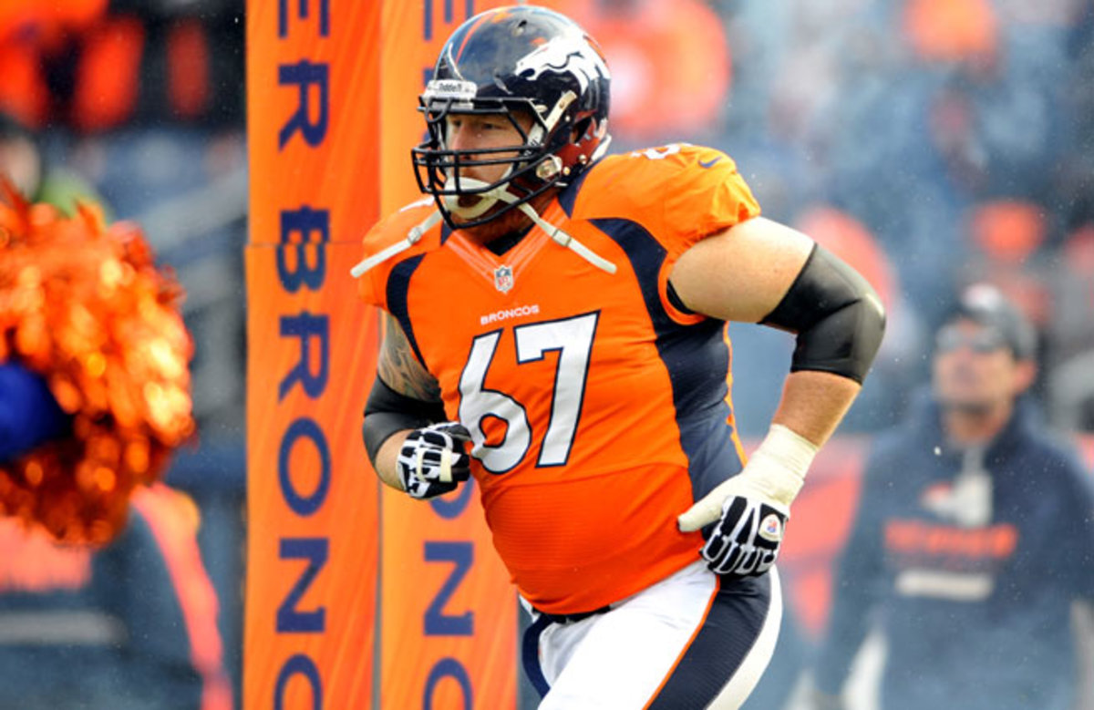 The Broncos may have lost Dan Koppen after the center rejoined the team five weeks ago.
