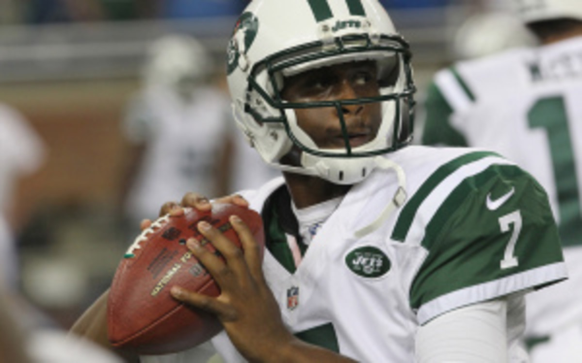 Geno Smith will reportedly get the nod to start on Saturday vs. the Giants. (Al Pereira/Getty Images)