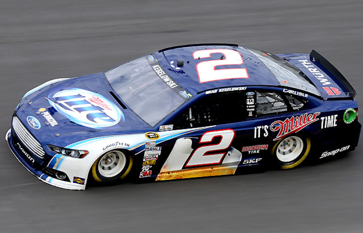 """Brad Keselowski says the image of the new """"Generation 6"""" racecar matters to drivers, because it's all fans see during races."""