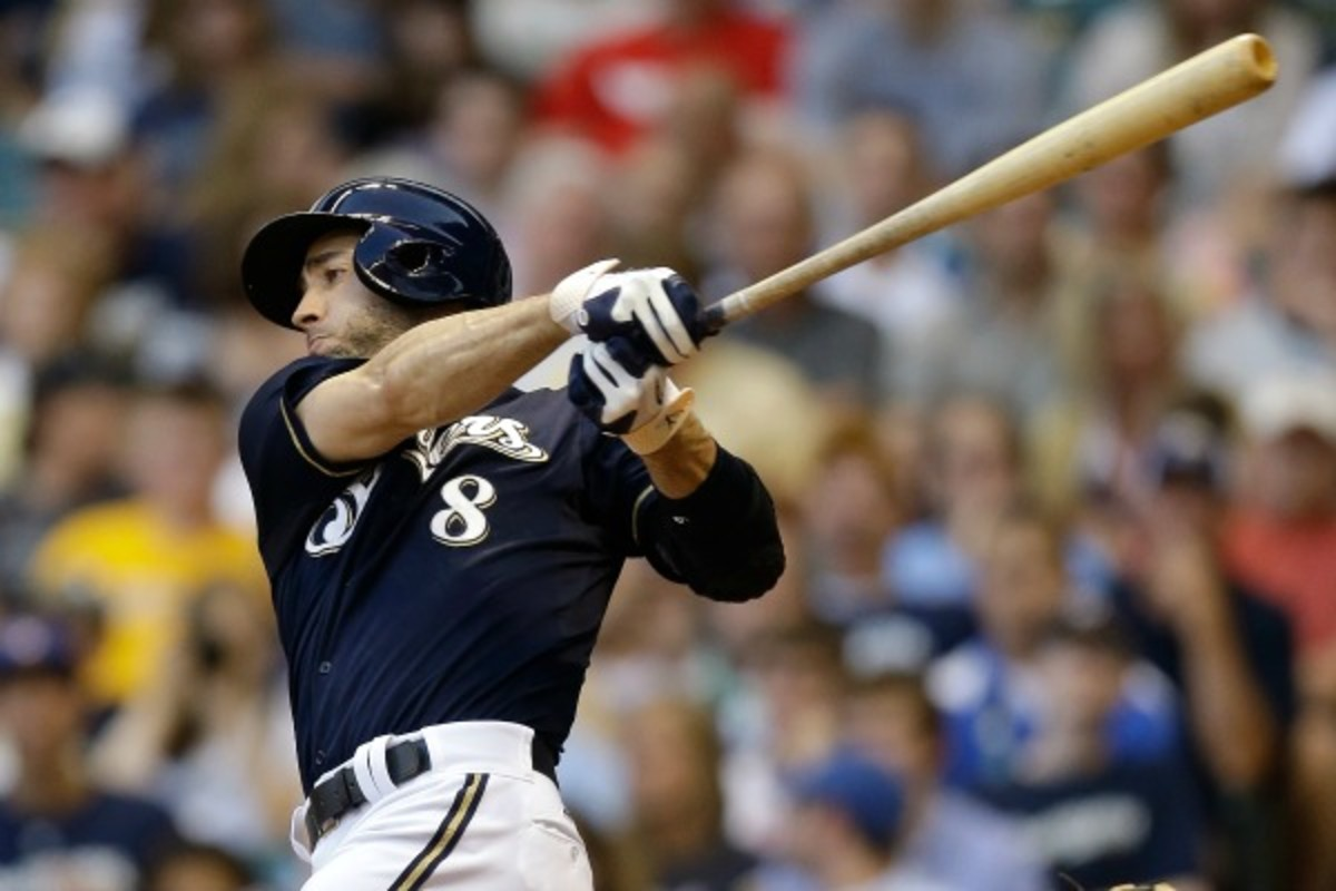 Ryan Braun (Mike McGinnis/Getty Images)