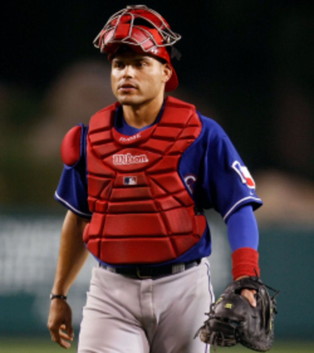 Ivan Rodriguez will join the Rangers as a special assistant to the GM. (Jeff Gross/Getty Images)