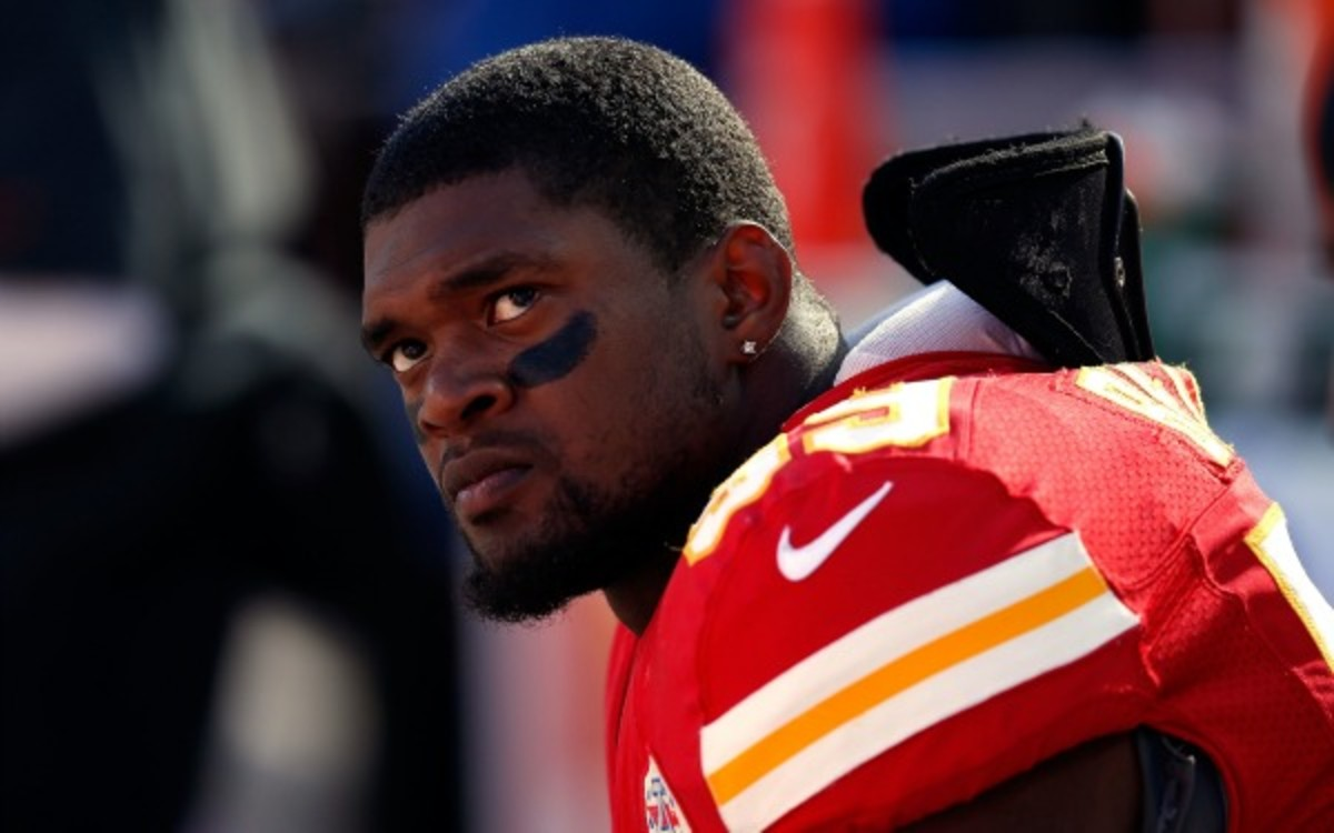 Zoey Belcher was orphaned after her father, Jovan Belcher, killed her mother and himself. (Jamie Squire/Getty Images)