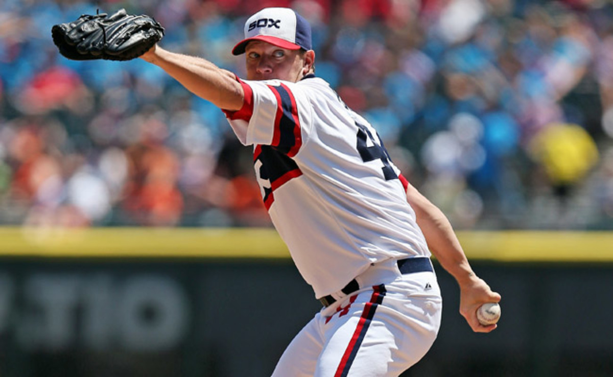 Jake Peavy is 8-4 with a 4.28 ERA in 13 starts with the White Sox this season.