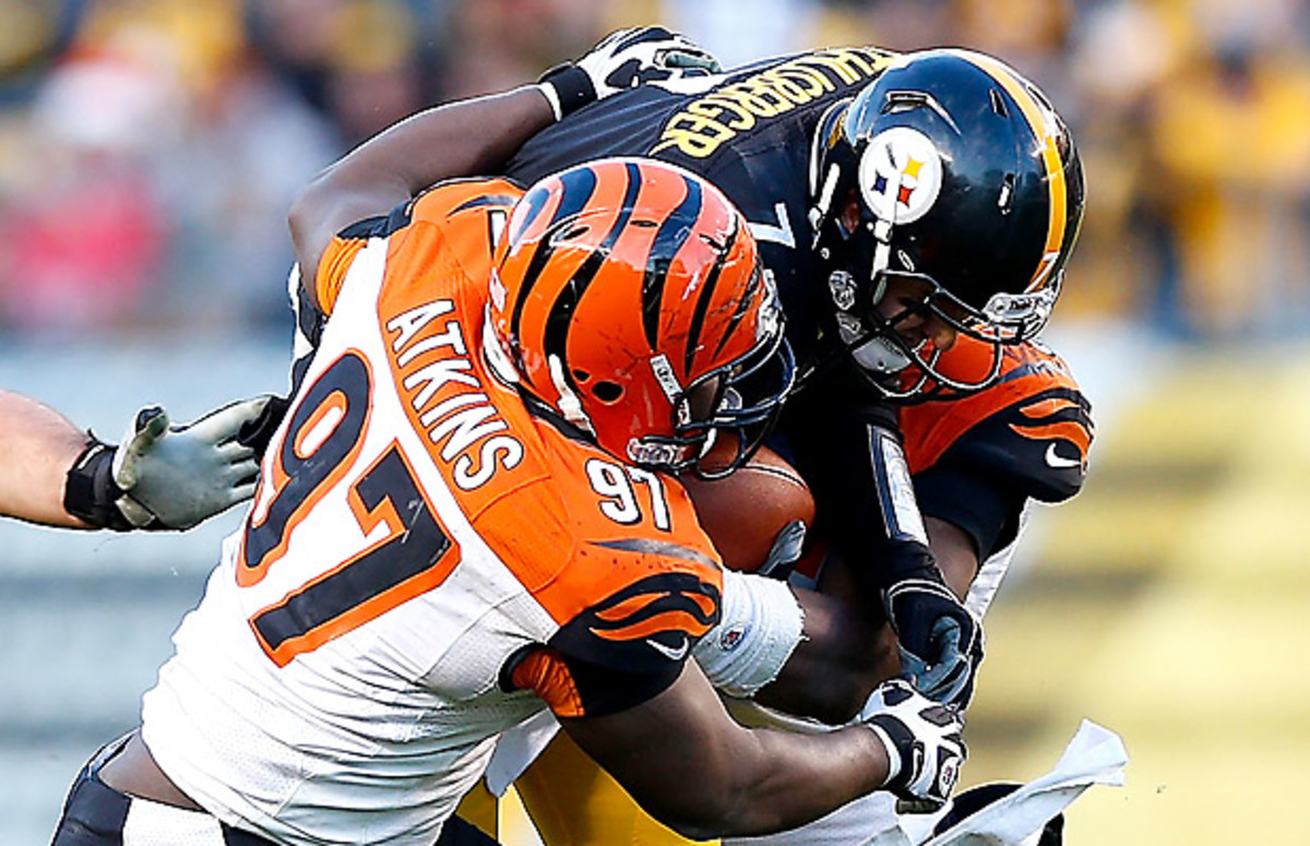 Geno Atkins is a monster, pure and simple. (Jared Wickerham/Getty Images)