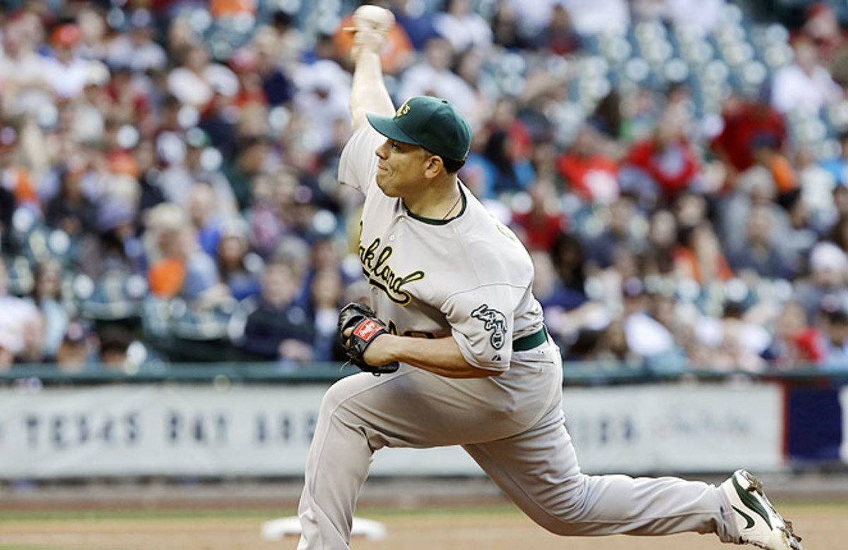 Colon experienced a resurgence last season with Oakland, posting a 3.43 ERA in 24 starts