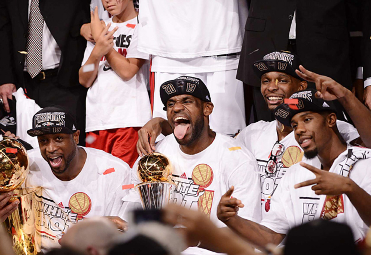 LeBron James left teammates and ownership in awe after he led the Heat to a second straight title.