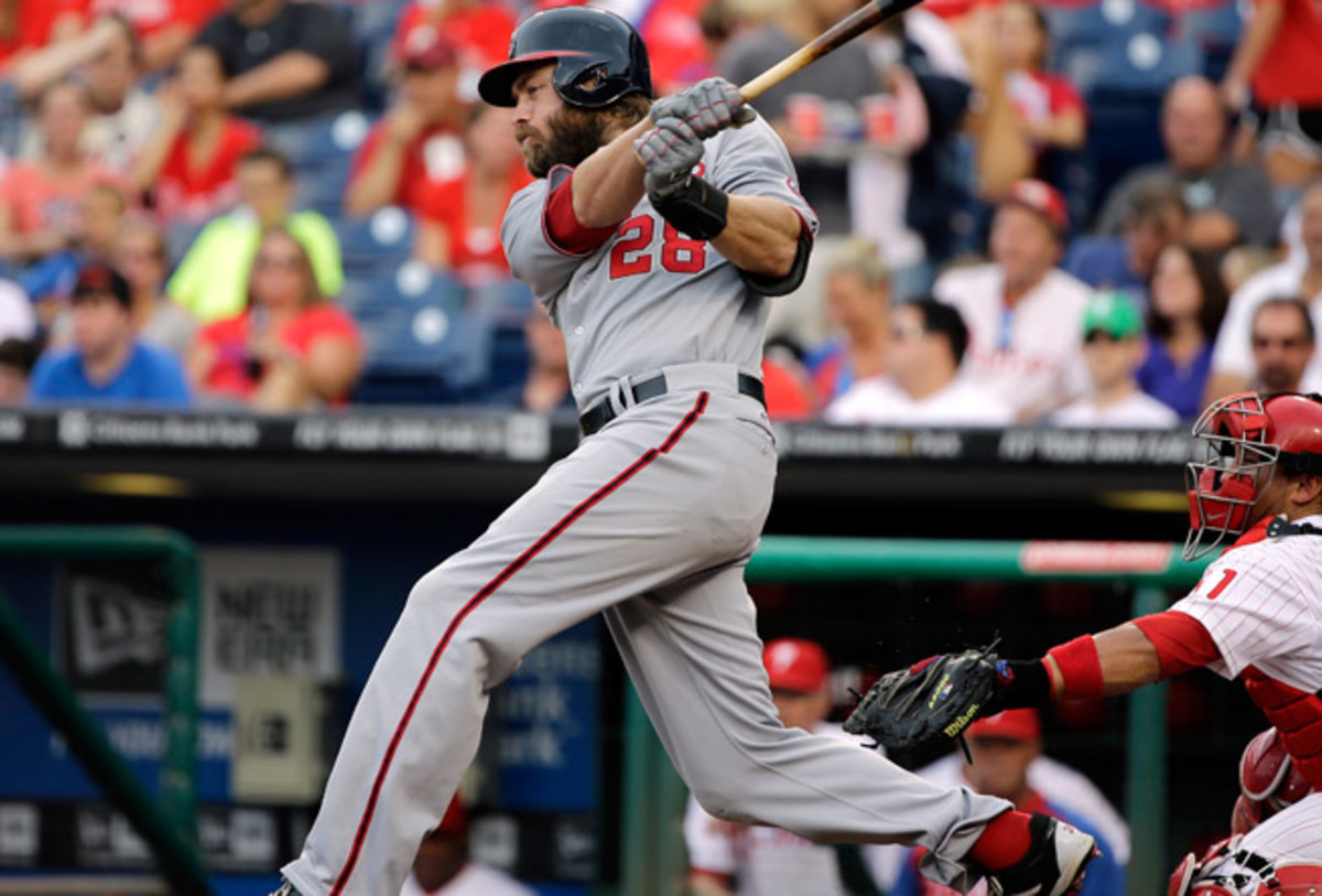 Nationals slugger Jayson Werth has rediscovered his power stroke in the season's second half.