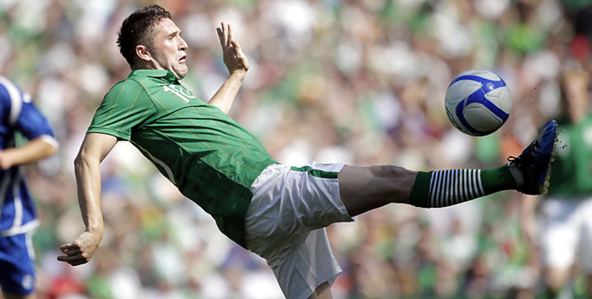 Robbie Keane was due to make his 124th appearance for Ireland in this week's World Cup qualifier.