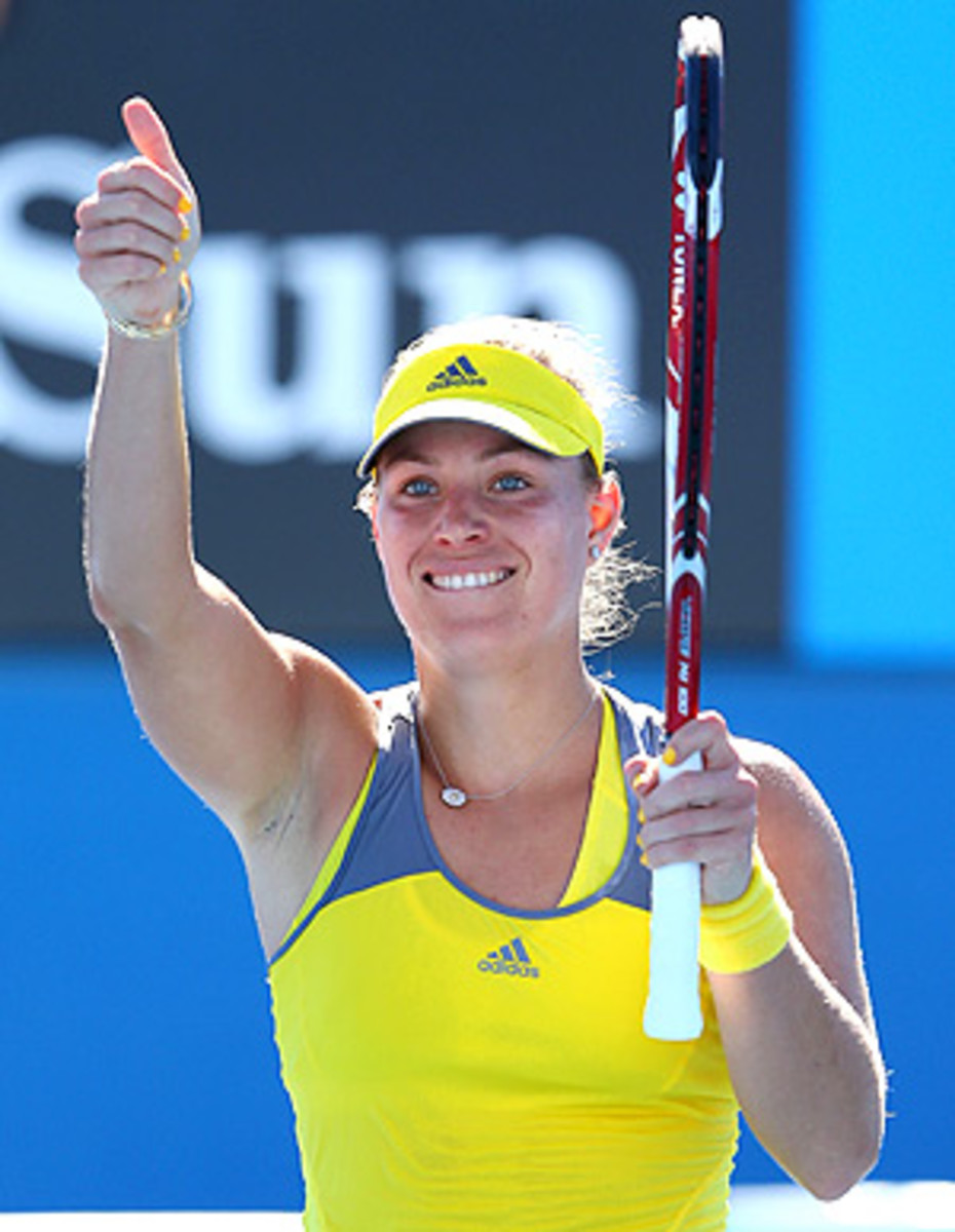 Angelique Kerber finished the season ranked No. 9. (Cameron Spencer/Getty Images)
