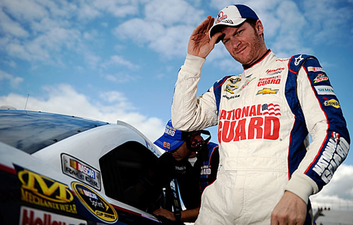 Determined at Dover: Dale Earnhardt Jr. is still seeking his first win of the season.