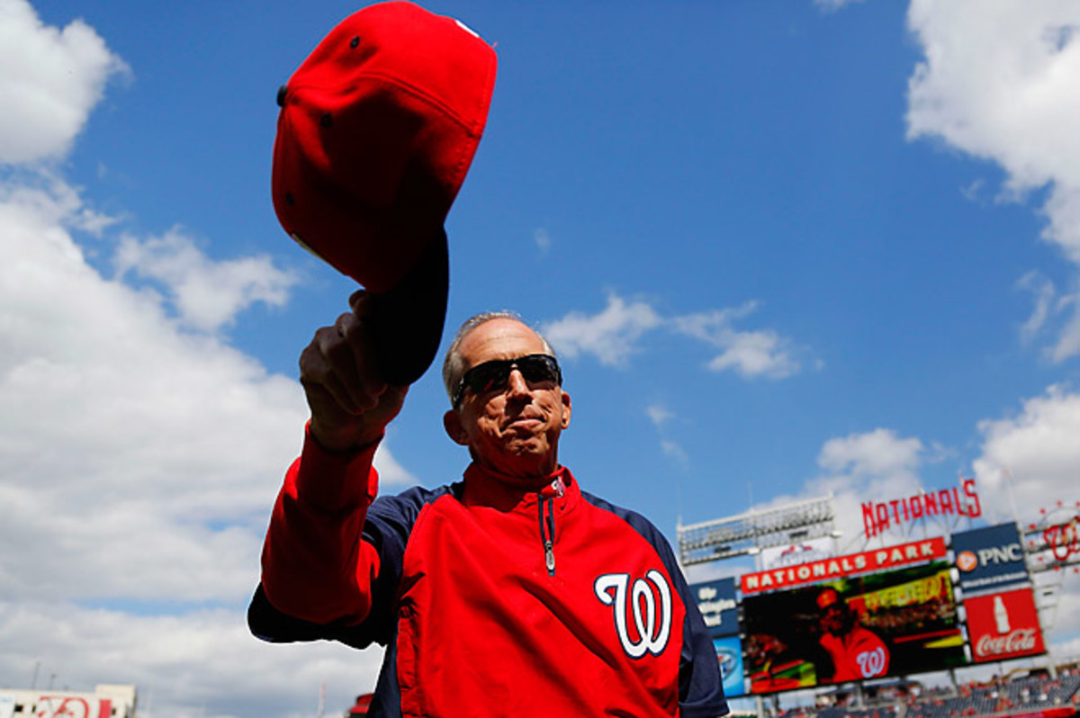 Johnson's career record is 1,369-1,067 over 17 seasons with the Mets, Reds, Orioles, Dodgers and Nationals.