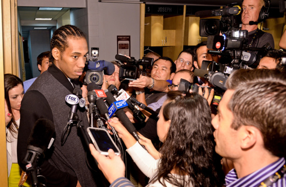 NBA players face less time with the media, but must be made available 45 minutes after games.