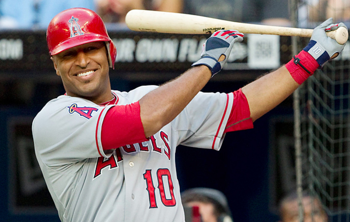 Vernon Wells has struggled with the Angels, hitting .230 or less with a sub-.700 OPS in two seasons.