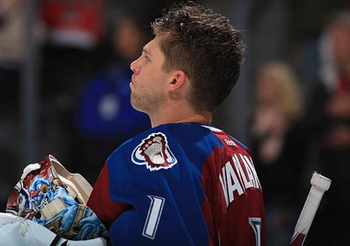 Semyon Varlamov was arrested on domestic violence charges