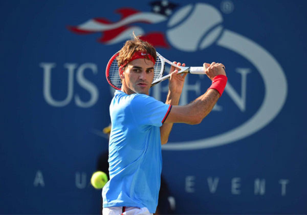 Roger Federer fell short in last year's U.S. Open, losing (Carlos M. Saavedra/SI)