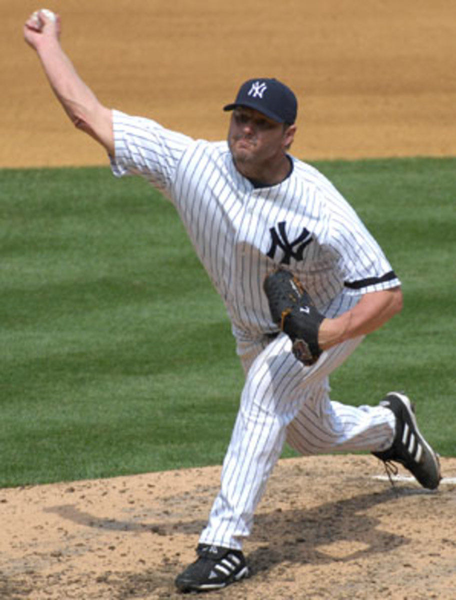 Seven-time Cy Young winner Roger Clemens failed to crack 40 percent in his first year on the ballot. (John Iacono/SI)