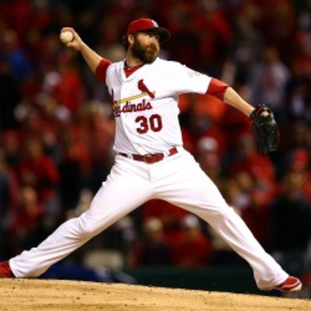 Cardinals relief pitcher Jason Motte agreed to a 2-year deal worth $12 million. (Kevin C. Cox/Getty Images)