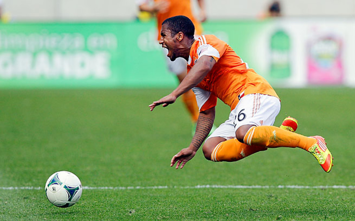 Corey Ashe has made more than 150 appearances with the Dynamo since 2007.