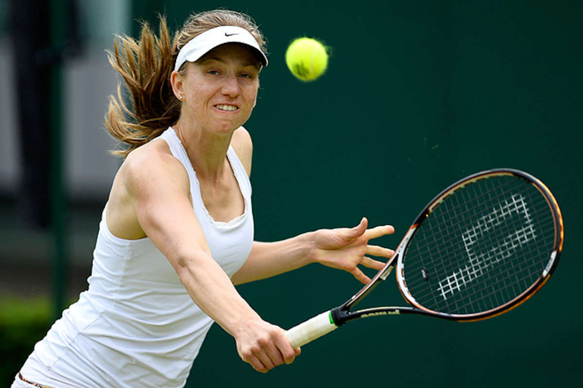 No. 1 seed Mona Barthel was down 6-2, 4-3 to Lisa-Maria Moser in round two when she pulled out.