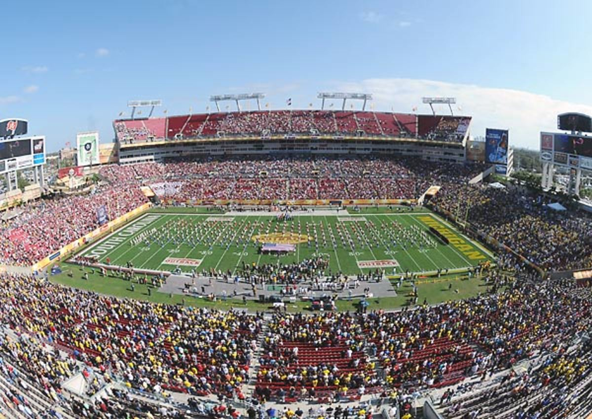 Tampa's Raymond James Stadium is a possible site for the 2016 or 2017 national championship game.