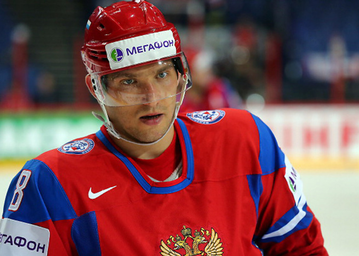 Alexander Ovechkin was adamant about playing for Russia when it hosts the 2014 Winter Olympics.