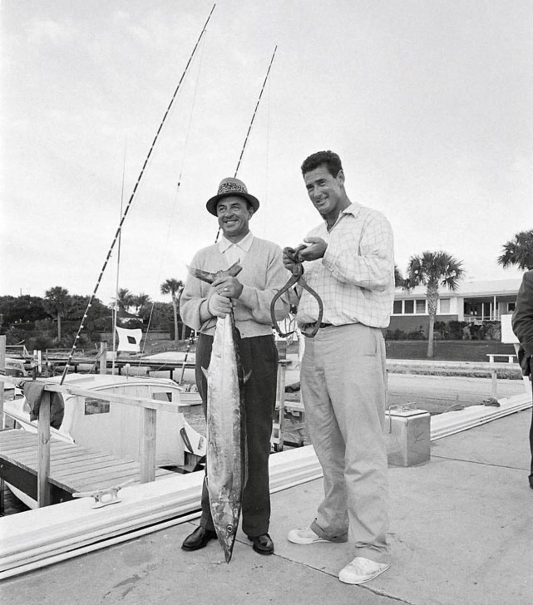 Sam Snead and Ted Williams