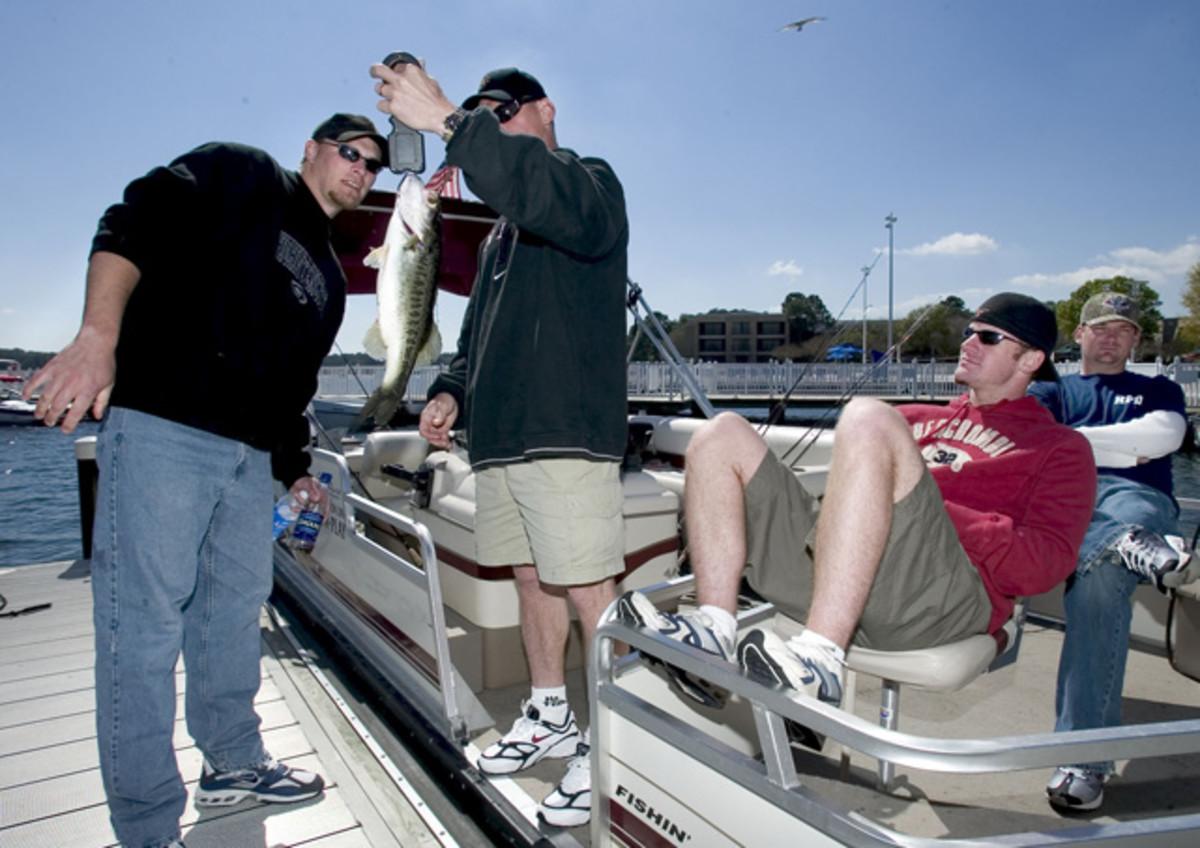 Wade Miller, Craig Biggio, Brad Ausmus and Ricky Stone