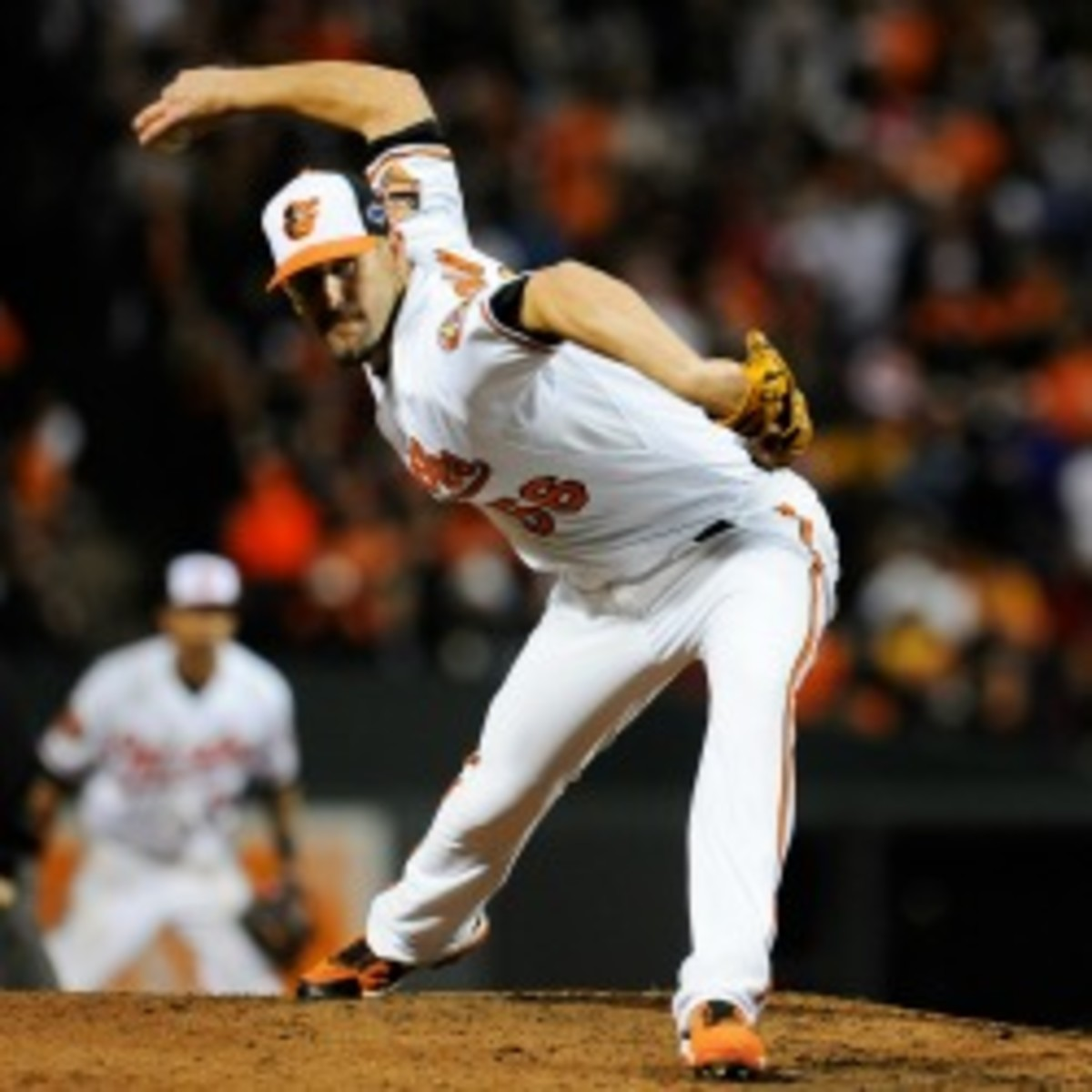 The Orioles and Darren O'Day have signed a two-year contract (Patrick McDermott/Getty Images)