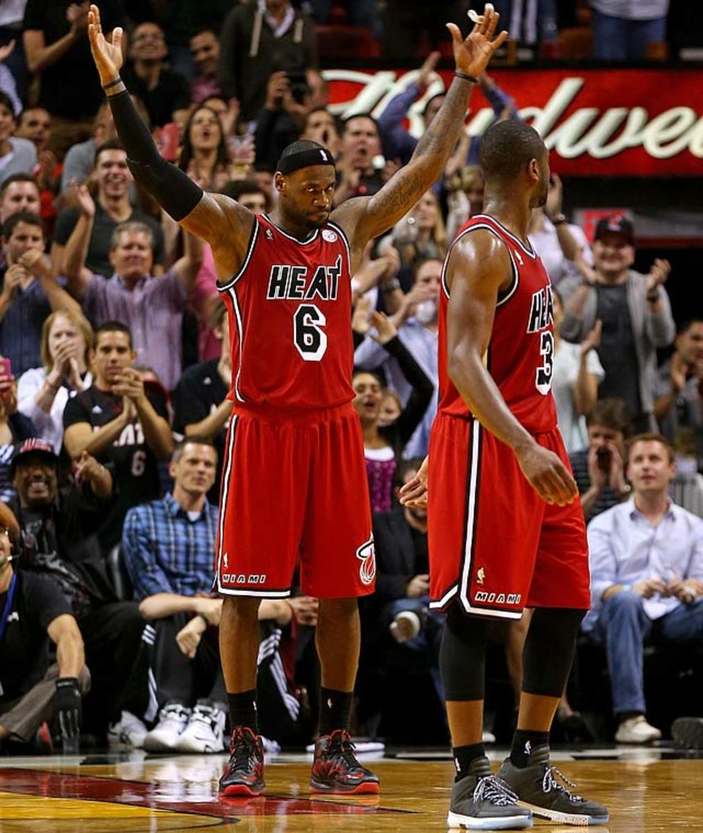 Heat 141, Kings 129 (2 OT)