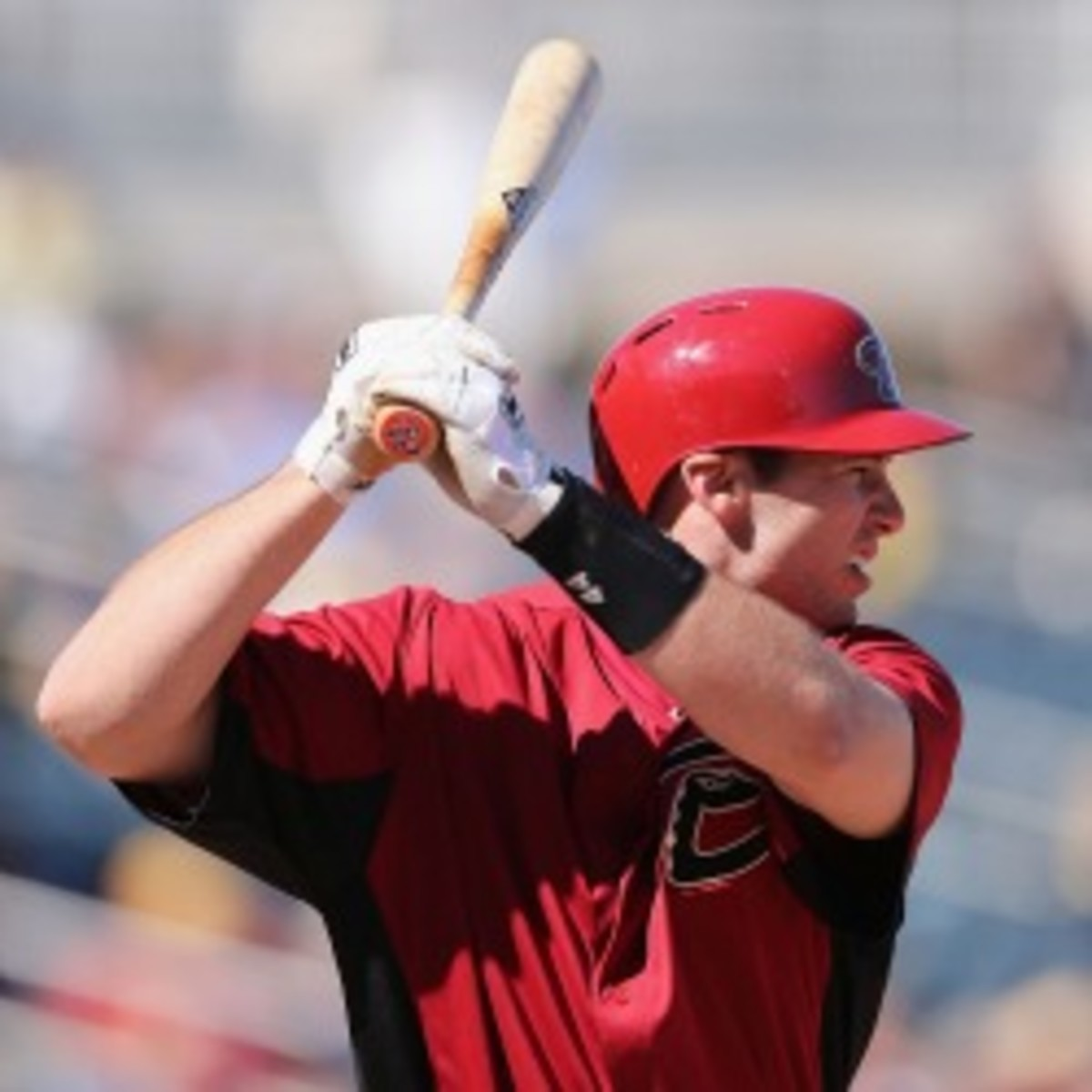 The Diamondbacks locked up their first baseman Paul Goldschmidt, signing him to a five-year deal. (Christian Petersen/Getty Images)