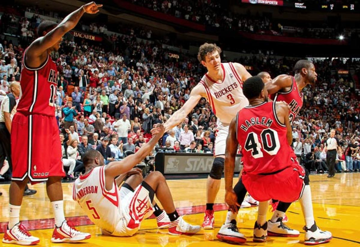 Heat 114, Rockets 108
