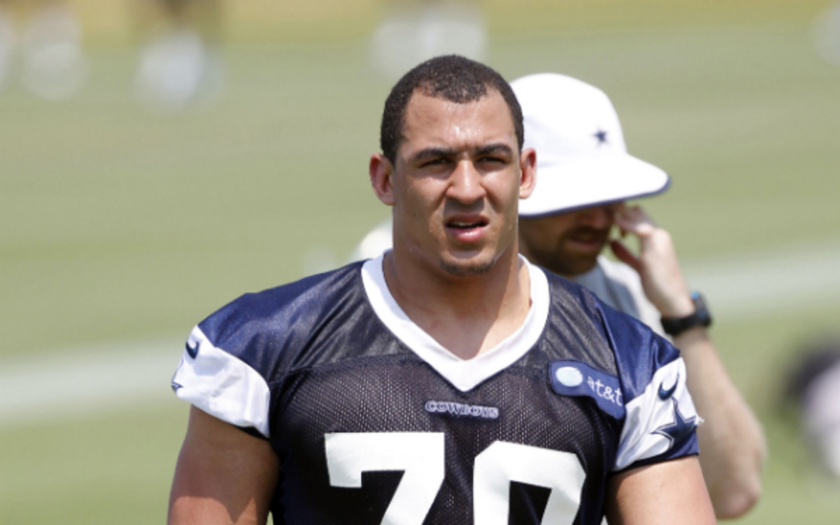 Cowboys defensive end Tyrone Crawford was injured Sunday and could already be out for the season. (Layne Murdoch/Getty Images)