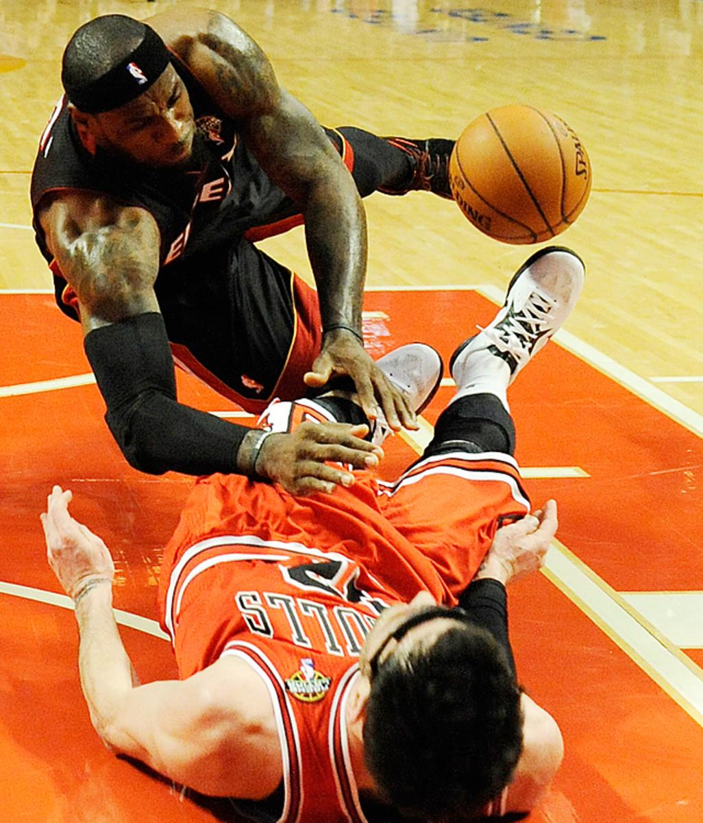 Bulls 101, Heat 97