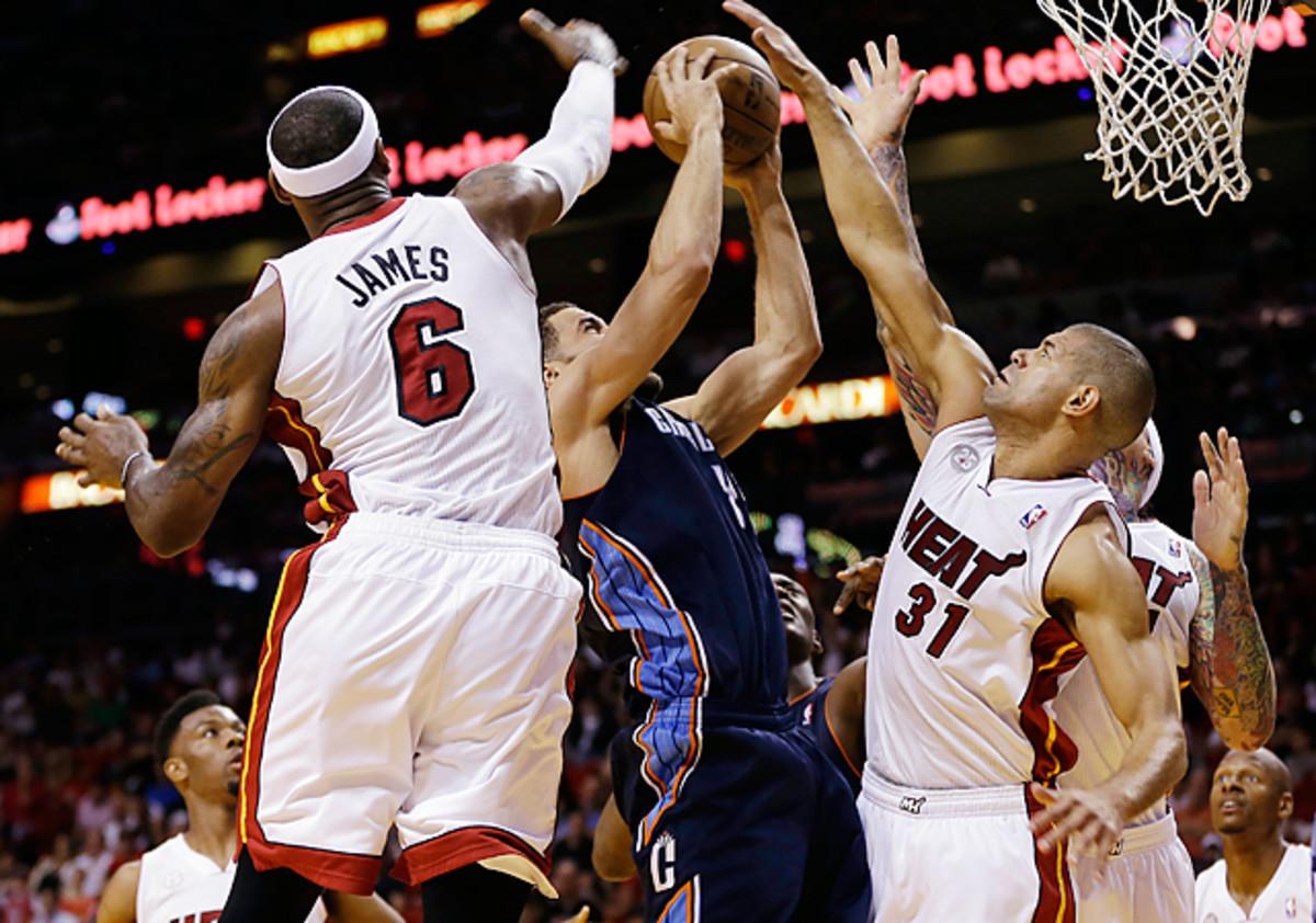 Heat 109, Bobcats 77