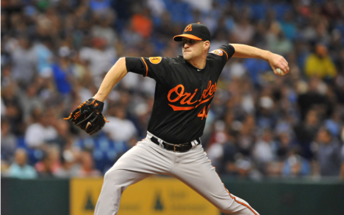 Baltimore Orioles pitcher Troy Patton has a career 3.05 ERA in five MLB seasons. (Al Messerschmidt/Getty Images
