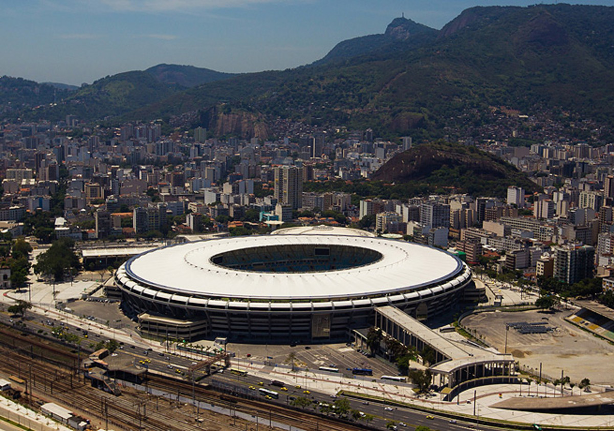 The Maracana stadium in Rio de Janeiro is one of the venues where the Brazuca will be put to use.