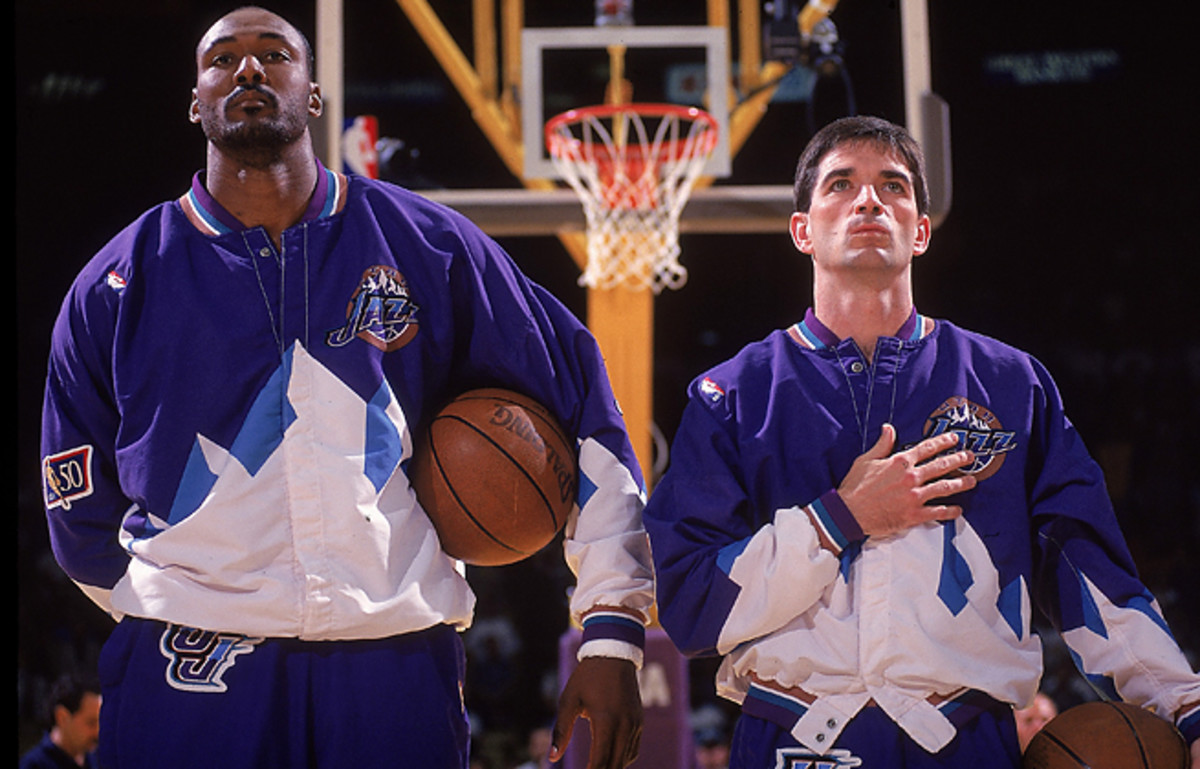 With help from Karl Malone, John Stockton reached the playoffs in all 19 of his seasons in the NBA.
