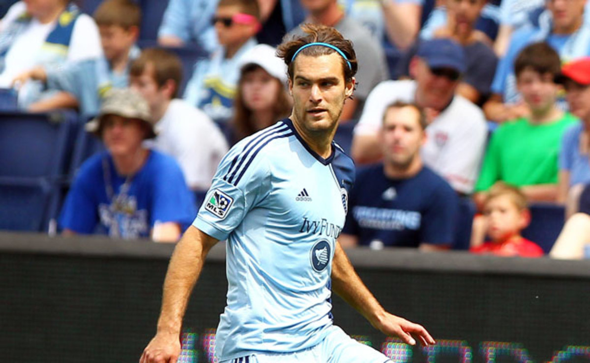 Graham Zusi was have been sought after by teams in the English Premier League.