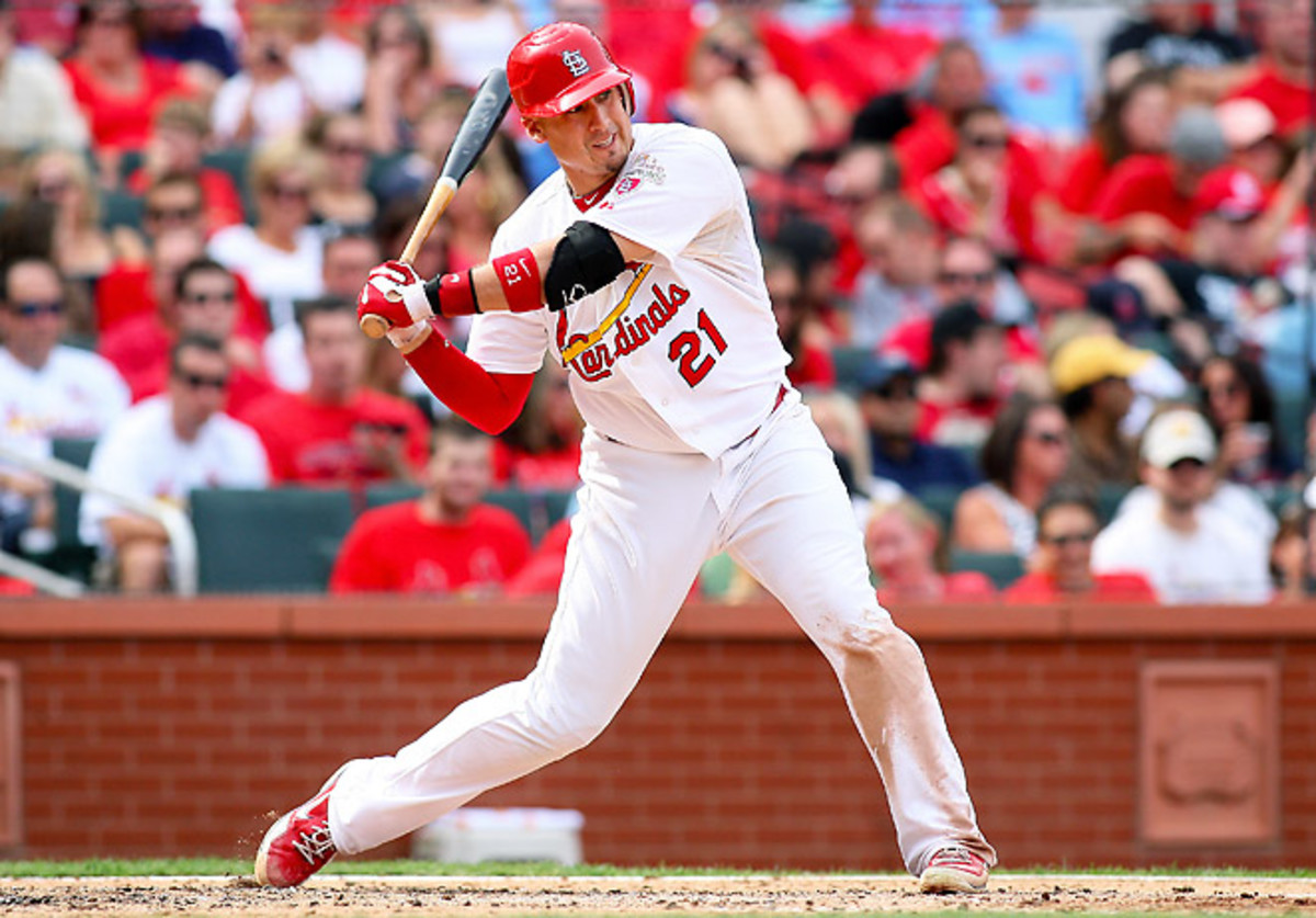 If he stays healthy, St. Louis' Allen Craig can finish the season as a top-five fantasy first baseman.