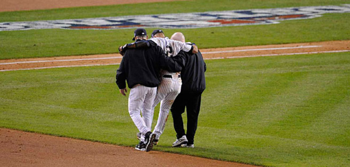 Derek Jeter broke his ankle last October and it could be a while before No. 2 is back on the field at Yankee Stadium.