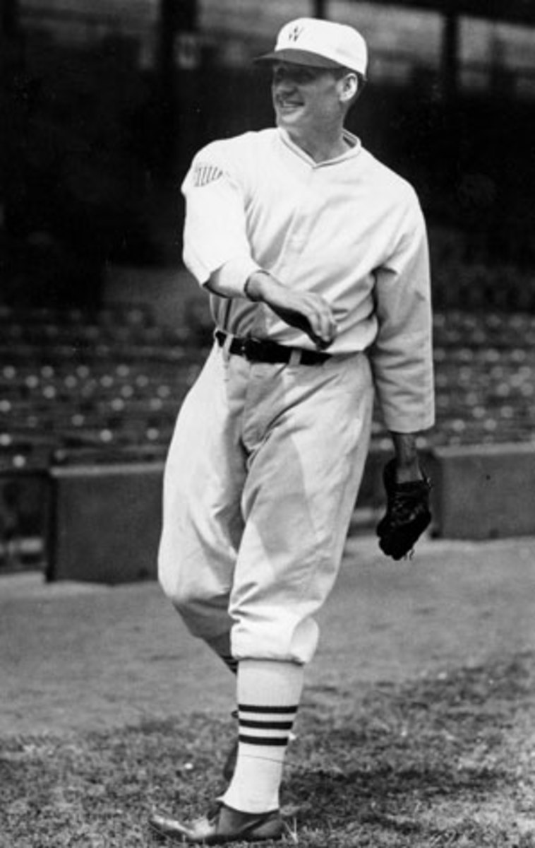 Walter Johnson won 416 games in his Hall of Fame career.
