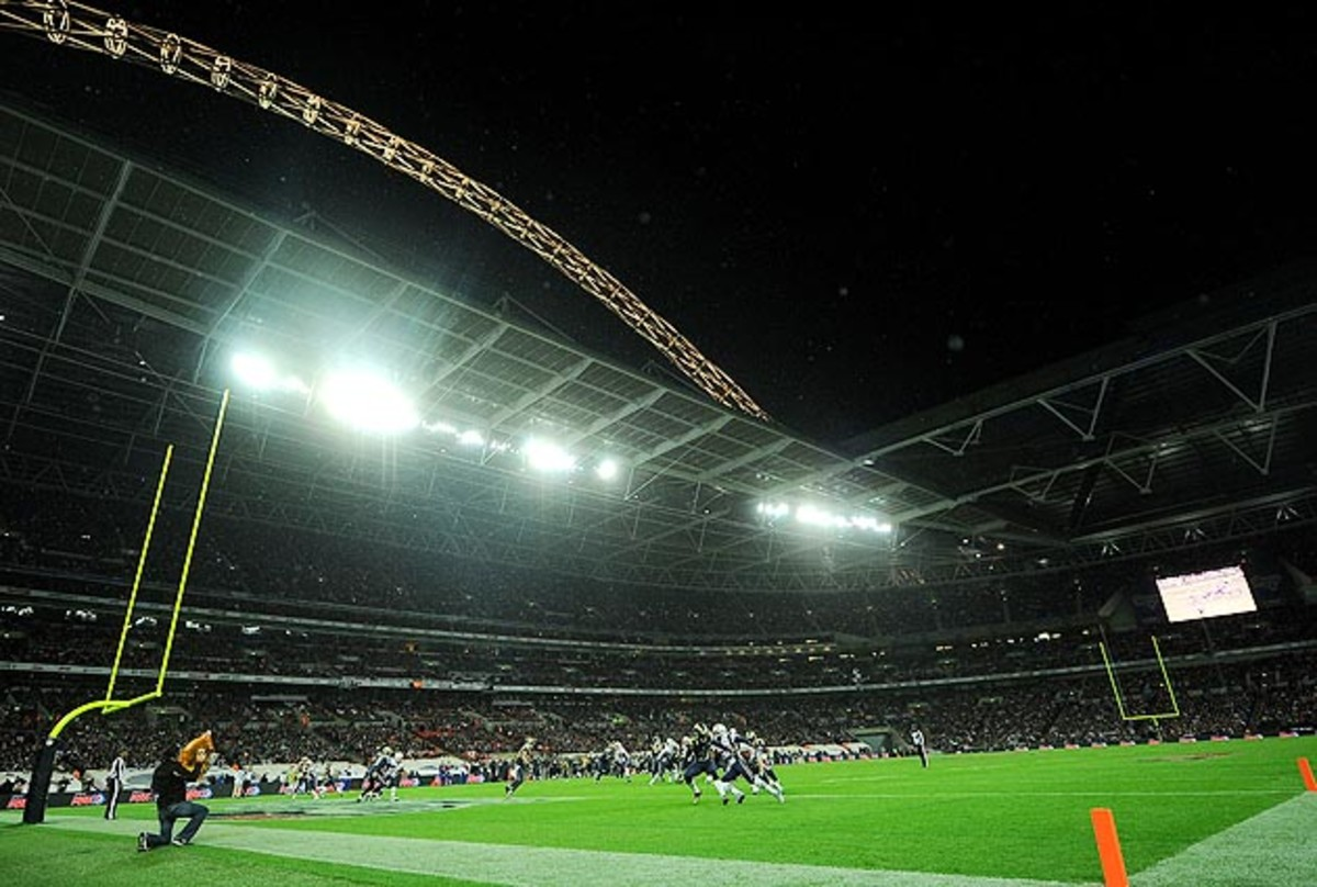 A Super Bowl at Wembley Stadium in London would be the first foreign Super Bowl in NFL history.
